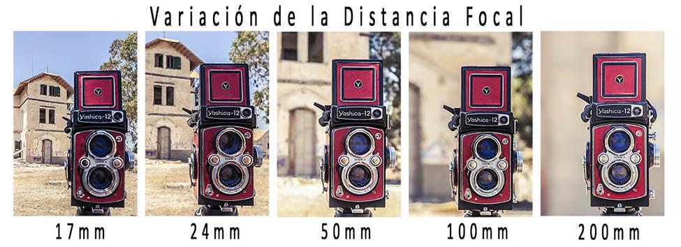 Variacion distancia focal 1020